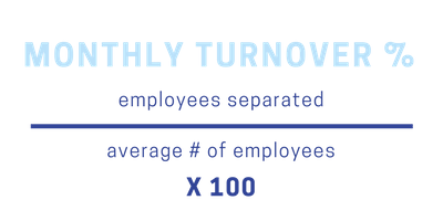 Monthly Turnover Rate
